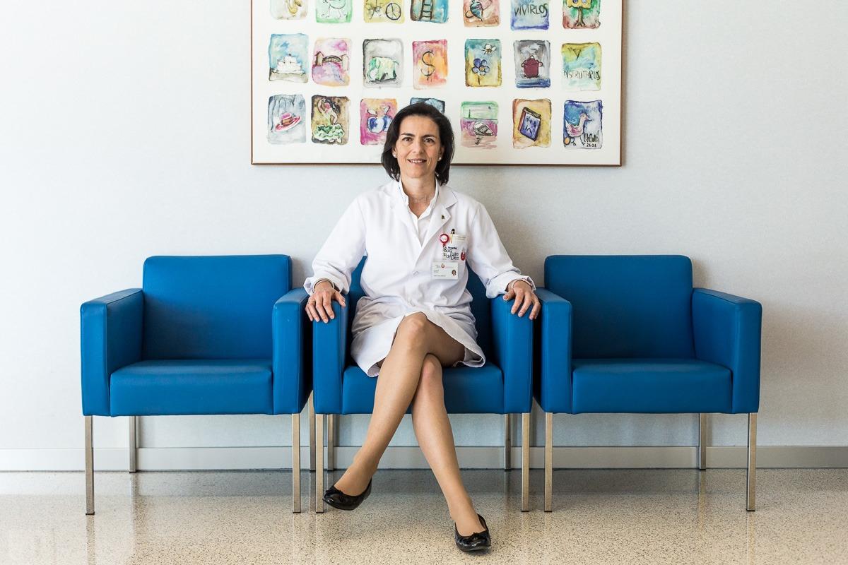 Patricia Segura, directora del Hospital San Juan de Dios