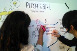 La Casa de la Juventud, sede del 'Pitch & Beer', cita para el pensamiento colaborativo y networking entre jóvenes emprendedores,