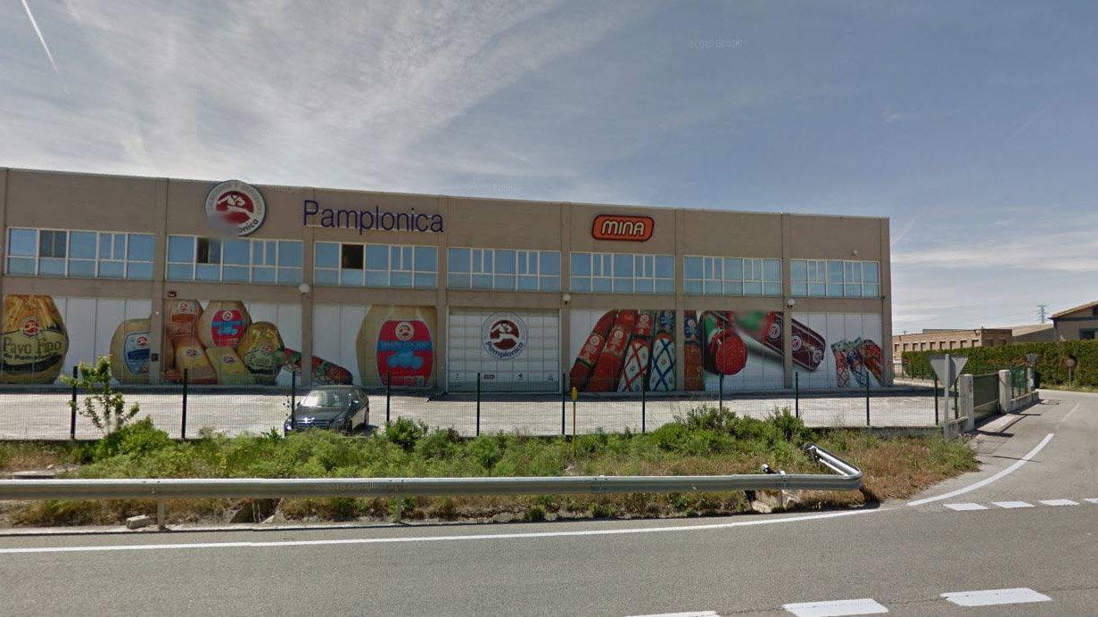 Últimas instalaciones de Pamplonica en Beriáin