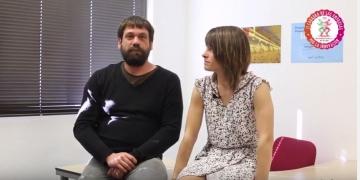 Gabriel Viscarret y Aida Loperena, promotores de AVIR