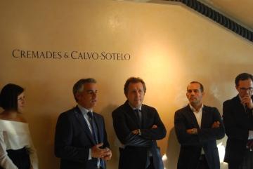 Arturo del Burgo, Javer Cremades y Juan Verde