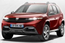 Este es el aspecto que podría ofrecer el futuro Dacia Grand Duster, según Auto Plus.