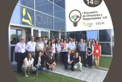 Asistentes del I Encuentro de Directivos y Responsables de I+D.