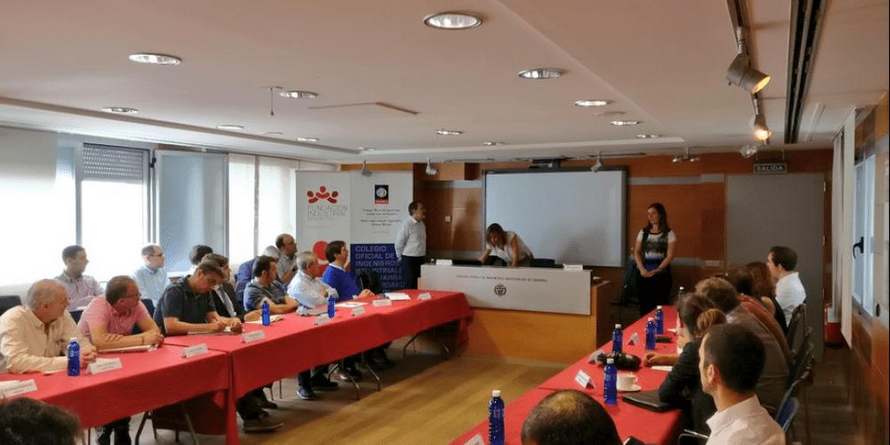 Imagen de la primera Mesa de la Innovación de la Fundación Industrial de Navarra.