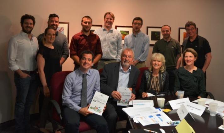 Mikel Irujo ha presentado en Montreal (Canadá) la Estrategia de Especialización Inteligente de Navarra