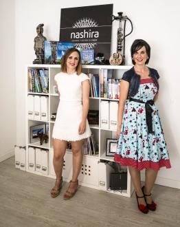Esther Urmeneta y Helena Areta