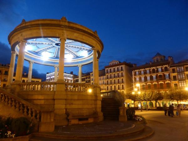 La zona más turística de Pamplona. (Foto cedida por el archivo de Turismo 'Reyno de Navarra'