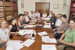 Izaskun Goñi preside la reunión del Consejo Navarro del Trabajador Autónomo celebrada recientemente.