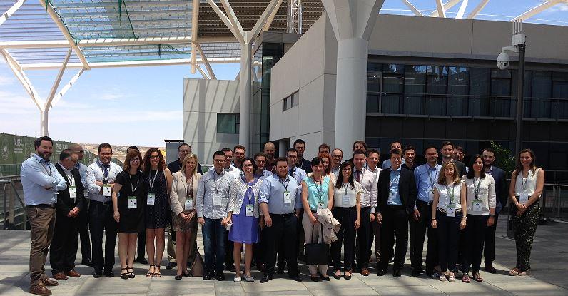Foto de familia de los promotores del proyecto ROMEO liderado por Iberdrola y en el que participa Zabala Innovation Consulting.
