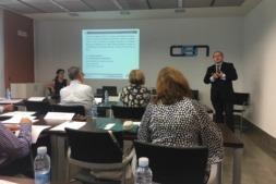 Vista de los participantes en el seminario APD sobre  negociación colectiva constructiva