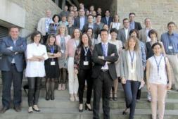 Miembros de AEDIPE Navarra tras su última Asamblea General celebrada en Gorraiz.