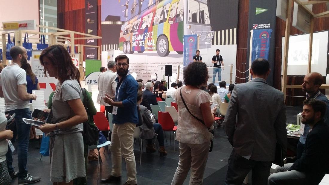 Participantes en la II Pamplona Innovaction Week. Fotos: Víctor Rodrigo.