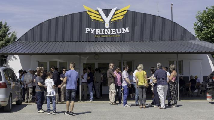Pyrineum se ha convertido en una instalación totalmente accesible para cualquier avión o aeronave privada.