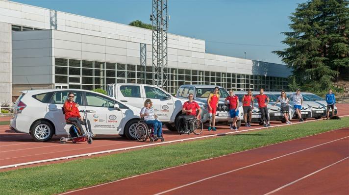 El acuerdo suscrito facilitará el día a día de muchos deportistas paralímpiicos y las personas que los ayudan.