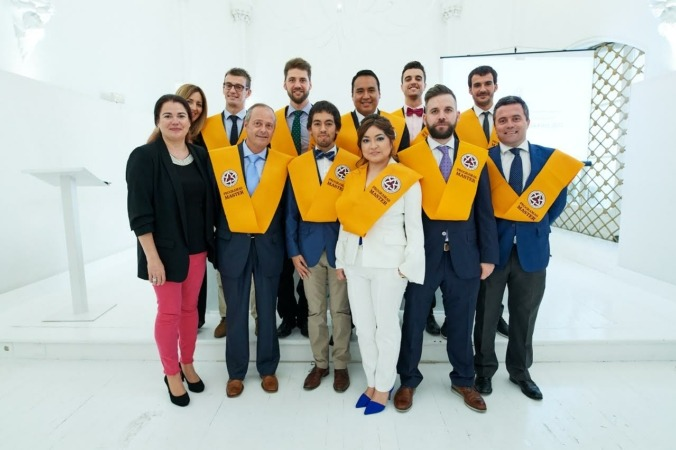 Alumnos del programa MBA INSIDE de Foro Europeo.