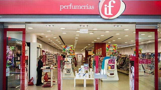 Imagen de uno de lAS 103 Perfumerías if pertenecientes hasta ahora a EROSKI.