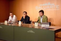 Javier Lacunza, Silvio Muraglia y Juan García.