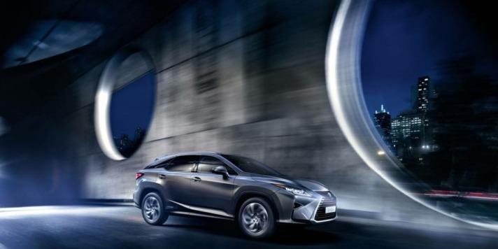 Imagen del nuevo Lexus RX450h la clase 'Business' de los SUV.