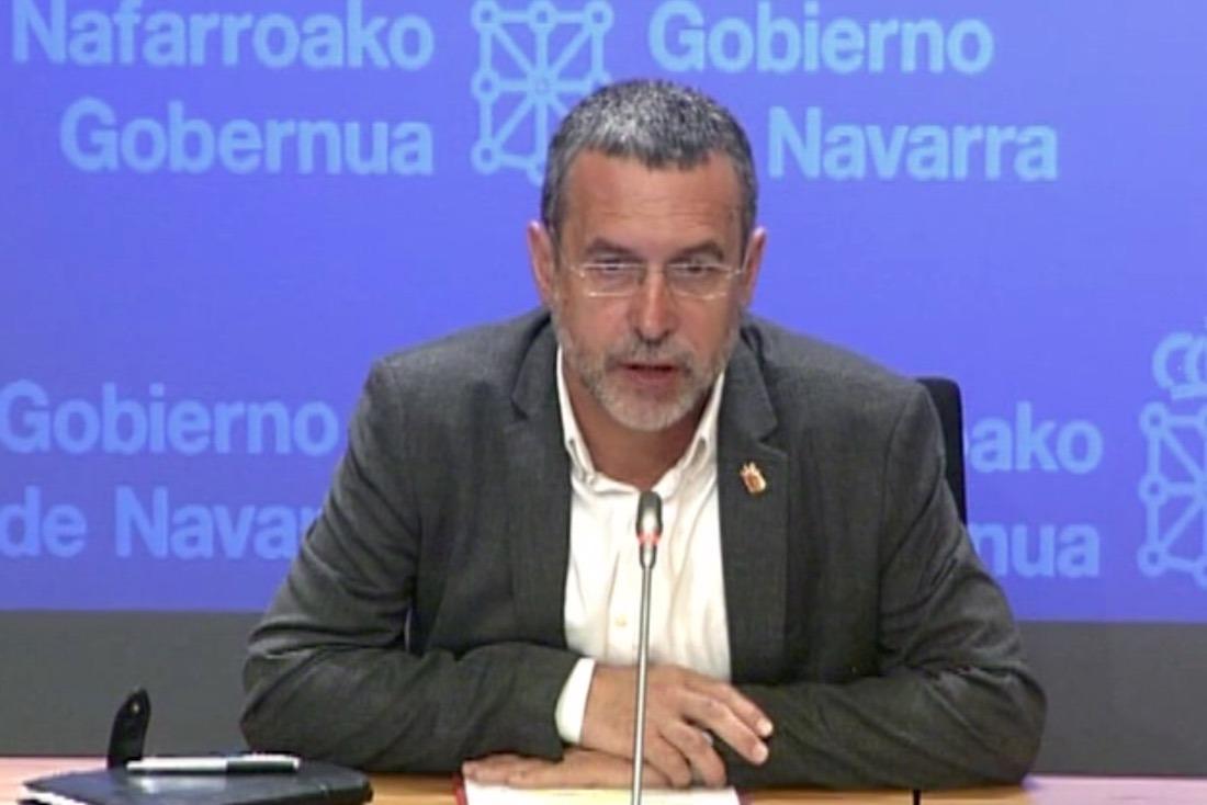 El vicepresidente de Derechos Sociales, Miguel Laparra.