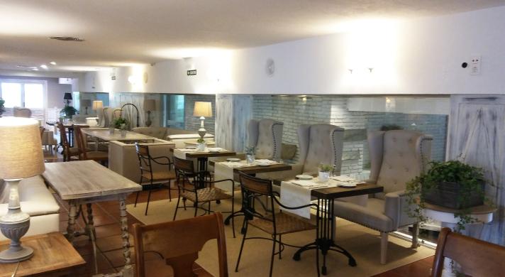 Salón del restaurante El Toro.