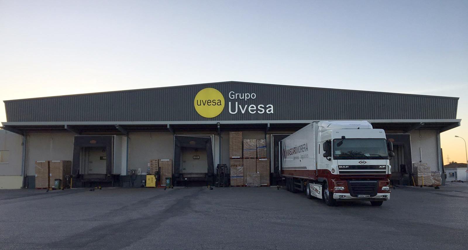 planta Grupo Uvesa Rafelbuñol