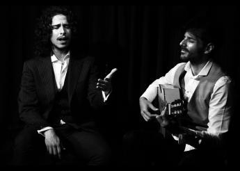 Kiki Morente y Juan Habichuela.