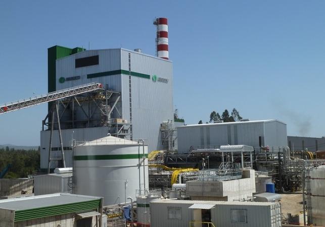 Imagen de la planta de biomasa impulsada por Caixabank en Chile.