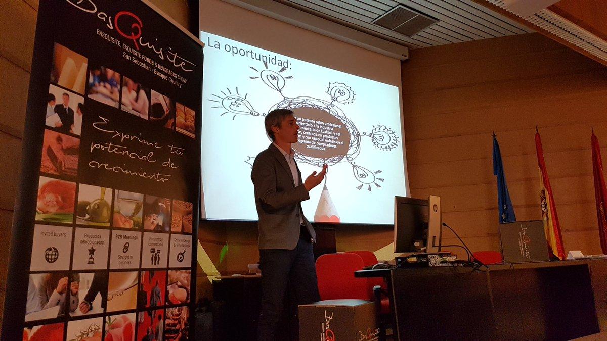 Imagen de la reciente presentación de Basquisite realizada en la sede de EVENA en Olite