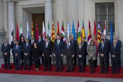 Archivo. Imagen de la VI Conferencia de presidentes autonómicos que se celebró el pasado 17 de enero en Madrid
