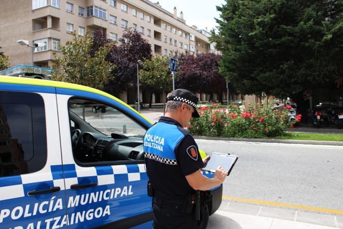 La policía de Barañáin ha sido una de las primeras en beneficiarse de las ventajas que aporta GeoCop
