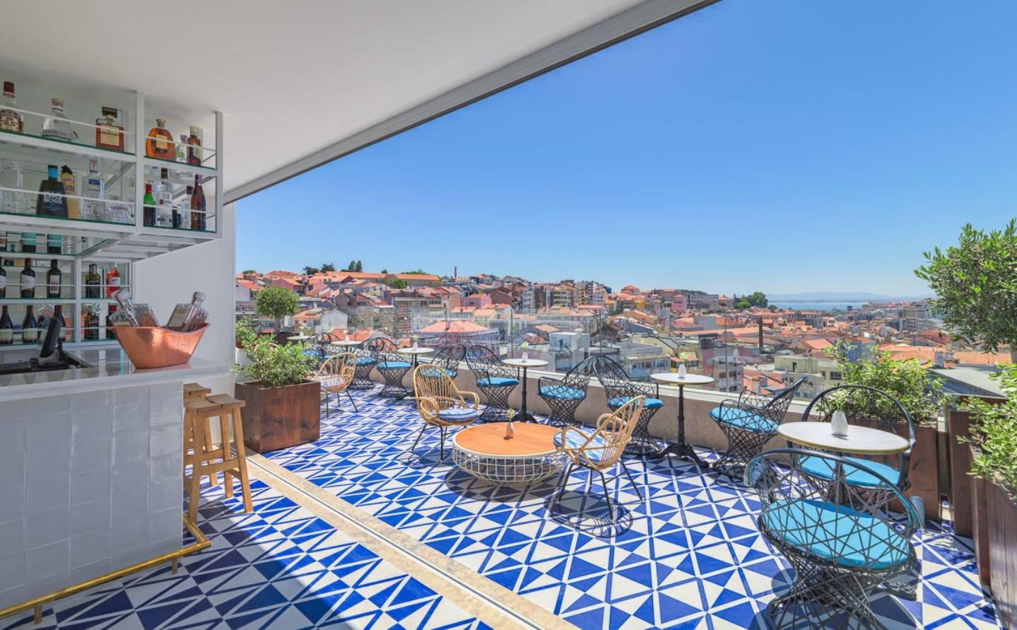 Vista de la terraza Chill-Out Limão_Lisboa