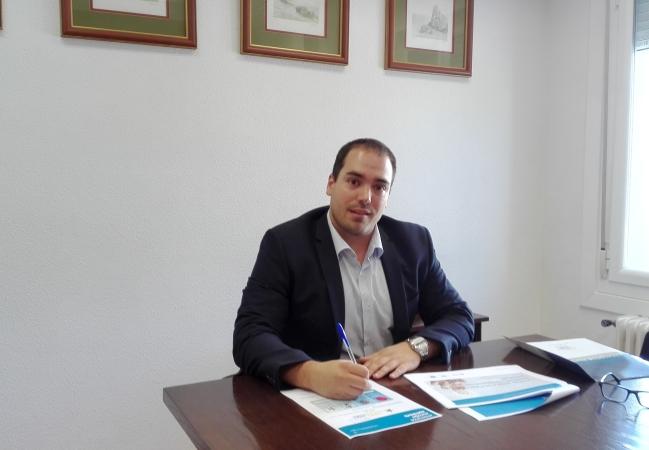 Sergio Pérez, director del programa Europa+Cerca en el nodo de la Universidad de Navarra.