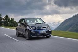 Imagen promocional del nuevo BMW i3 2018 que será presentado en el próximo Salón del Automóvil de Frankfurt.