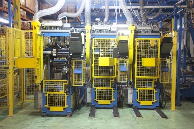 Imagen de una de las dos nuevas prensas con las que se ha dotado Icer Brakes.