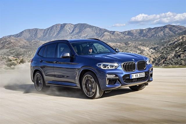 Imagen promocional del nuevo BMW X3 M40i que llegará al mercado español este otoño.
