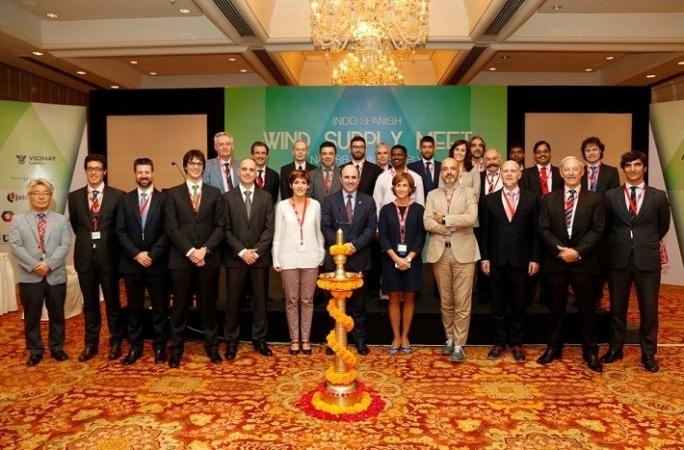 La delegación navarra en la visita realizada el pasado año a India