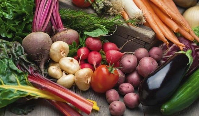 Imagen de alimentos catalogados como Slow Food.