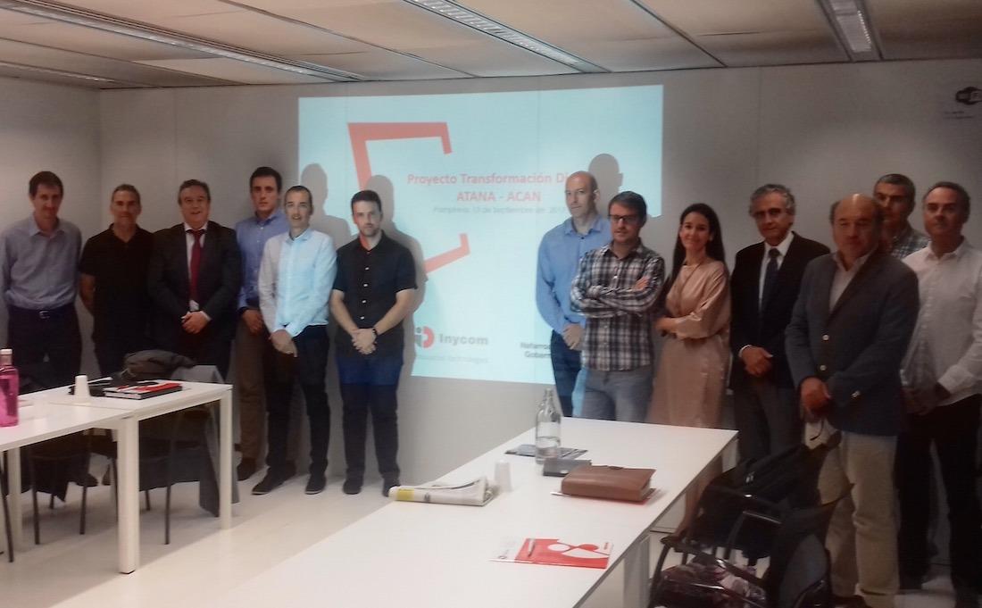 Miembros de ACAN y ATANA impulsores de este proyecto de transformación digital