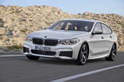 Imagen promocional del nuevo BMW 6 Series Gran Turismo.