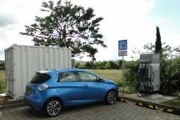 Imagen de un modelo eléctrico de la marca Renault.