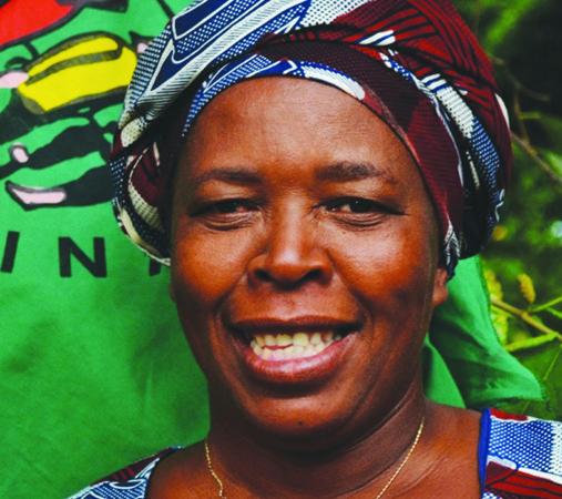 En la imagen, Elisabeth Mpofu, una de las máximas representantes de La Vía Campesina.