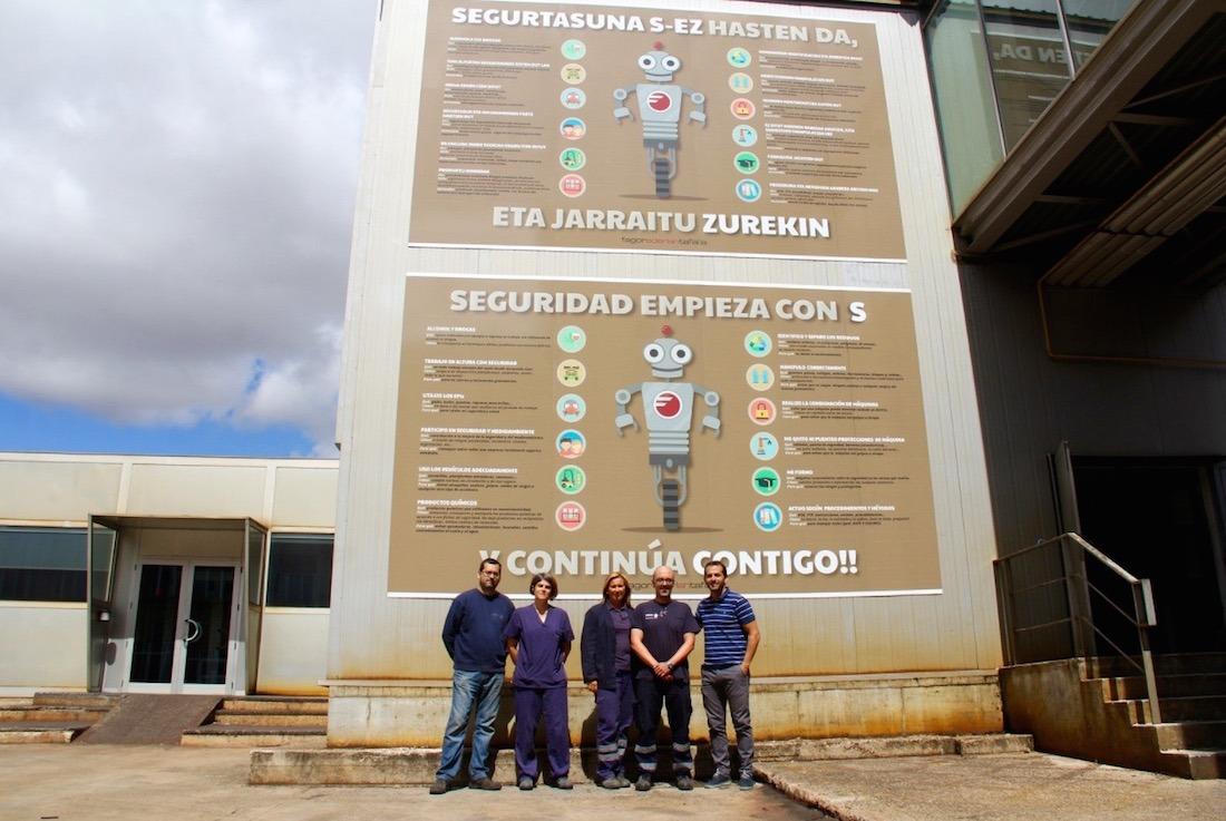 Ederlan Fagor, una de las grandes empresas industriales de la zona media, también ha participado del Plan.