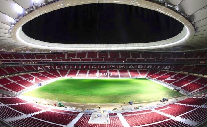Estadio Wanda Metropolitano (CEDIDA por Atlético de Madrid).