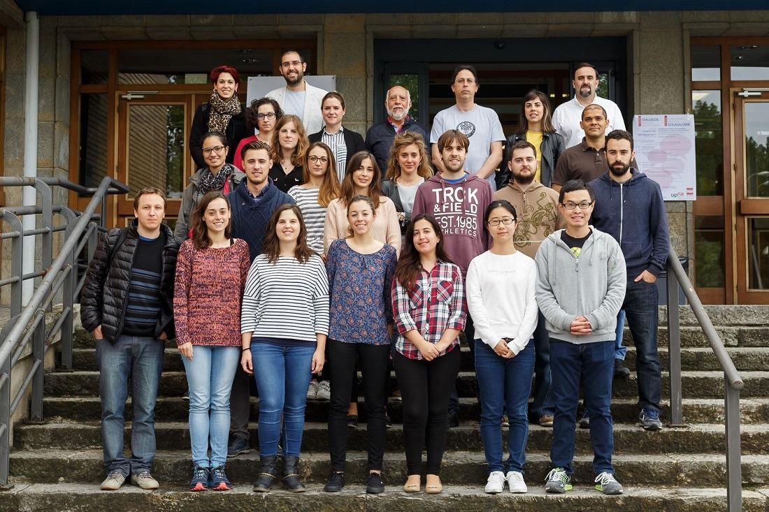 Estudiantes de doctorado que han cursado el módulo de emprendimiento en la UPNA.