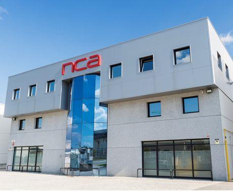 Imagen exterior de la empresa navarra NCA en el polígono Comarca 2.