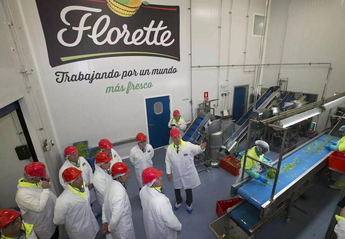 Inauguración de la ampliada planta de Florette en Canarias