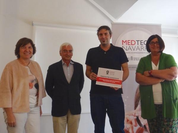 Imagen de los ganadores del proyecto MEDTECH 2017.
