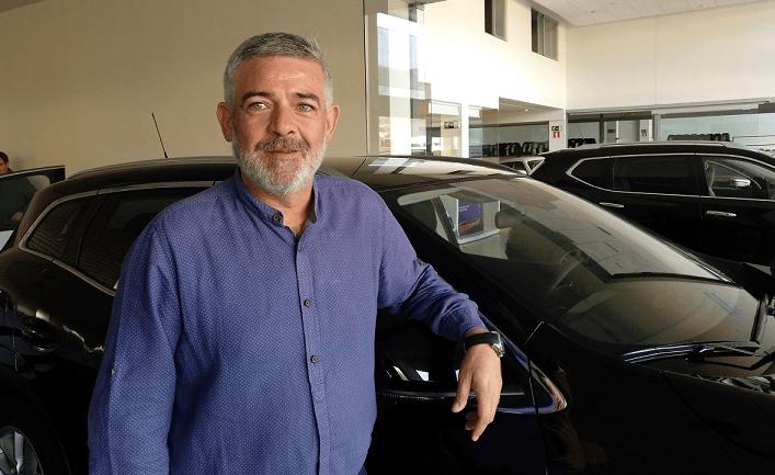 Ignacio Valencia, impulsor y máximo responsable, con el apoyo de Grupo Unsain, de Motor Ayegui en Estella.