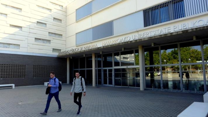 Imagen del Campus de la UPNA en Tudela