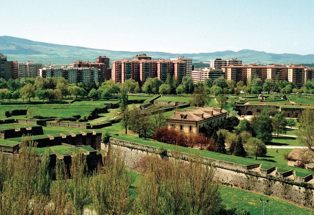 Vista panorámica de la Ciudadela de Pamplona.